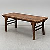 A ming style wooden table, 20th century.
