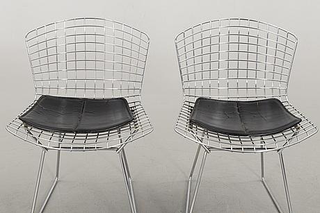 "A pair of harry bertoia ""side chair"", knoll international"