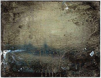 MAX MIKAEL BOOK, blandteknik på pannå, signerad, numrerad 1/25 och daterad 1997 a tergo.