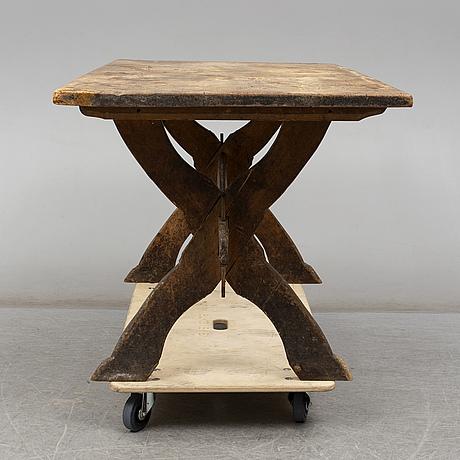 Bockbord, allmoge, 1800-tal.