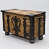 A baroque chest, dated 1788