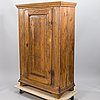 An 18th century wooden cabinet