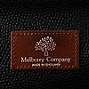 Mulberry, vintage black scotchgrain racket bag