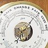 Skeppsur och barometer, schatz, royal marine, 1900 talets andra hälft