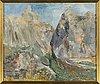 MÄrtha bolin clason, oil on canvas, signed