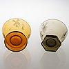 GÖran hongell two 1930s glass bowls