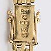 Damarmbandsur omega 18k guld, 20 mm, total vikt 29,1 g, manuell