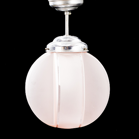 A 1920s 30s ceiling light