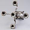 A silver candelabrum, turku 1967