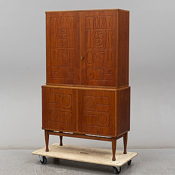 "A ""Krus"" cabinet, designed by Yngve Ekström for AB Westbergs Möbler in Tranås, model launched 1955."