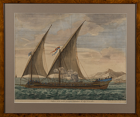 Pieter mortier, hand coloured copper engraving, late 17th century