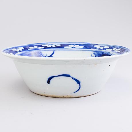 Stor skÅl, porslin, kina 1800-talets slut.