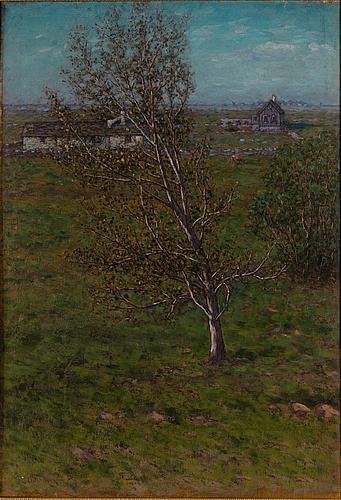 Per ekstrÖm, oil on canvas, signed