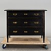 A painted chest of drawers, early 20th century