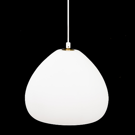 A mid 20th century pendant ceiling light, idman, finland