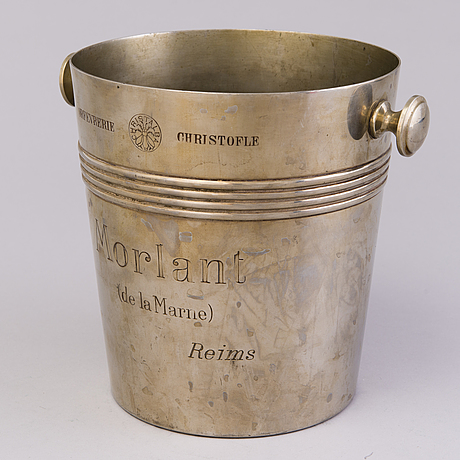 A french advertising champagne cooler for charles heidsieck & co reims, first half of 20th century
