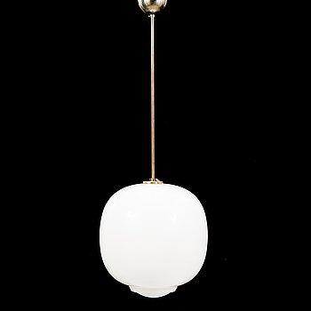 A mid 20th century pendant light.