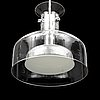 A 'crystal' ceiling light by anders pehrson for atejé lyktan, later part of the 20th century