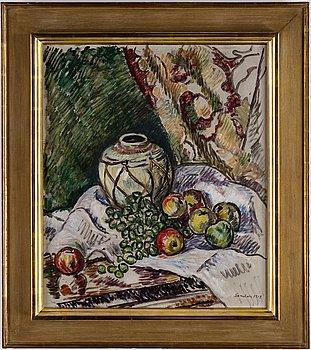 GÖSTA SANDELS, oil on canvas, signed and dated 1914.