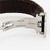 Cartier, tank, wristwatch, 22 mm