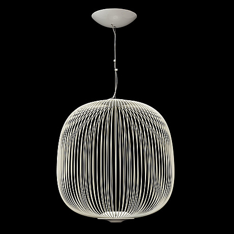 Garcia cumini,  a 'spokes 2'  ceiling lamp, from forscarini, 21st century