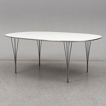 """BRUNO MATHSSON OCH PIET HEIN, a """"Superellips"""" table, Fritz Hansen, Denmark."""