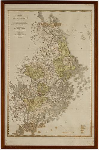 Engraving, stockholm 1802