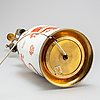 Bordslampa, porslin. meissen, 1900 tal
