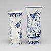 Meissen, vaser, 2 st, porslin, tyskland, 1900 tal
