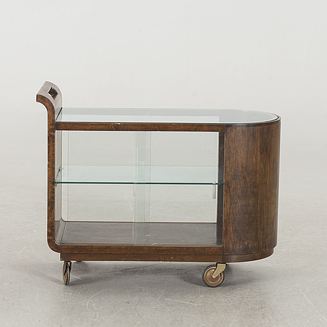 A 1940*s serving trolley.
