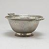 A pewter bowl by firma svenskt tenn, stockholm 1931