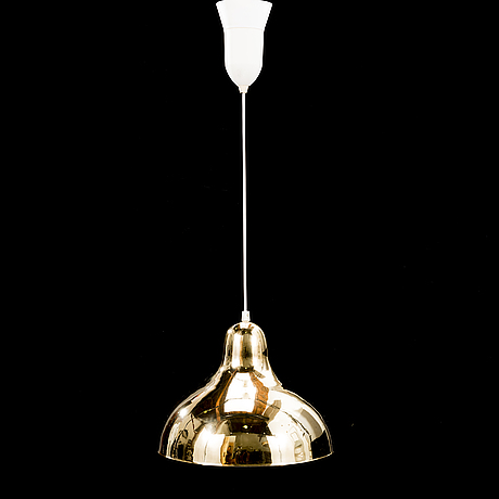 A 1970's pendant light