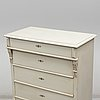 A painted chest of drawers, circa 1900