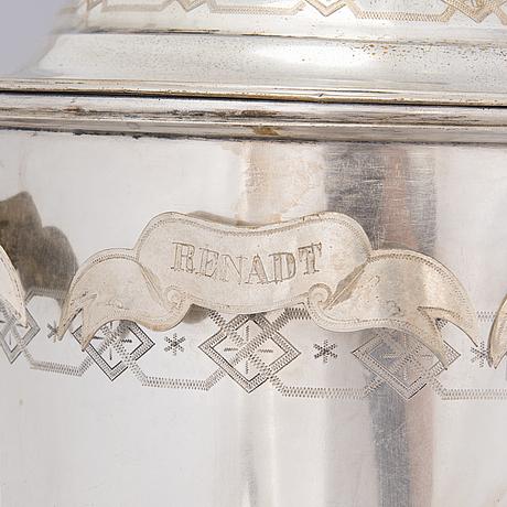 Viinasamovaari, uushopeaa, ruotsi 1800 luvun loppu