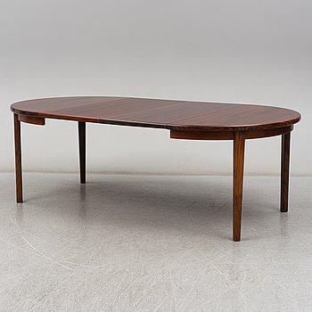 KAI KRISTIANSEN, a rosewood table. Skovmand & Andersen, Denmark 1950/1960s.