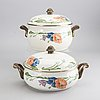 A 56 pcs villeroy & bosh amapola  porselain and enamel dinner service