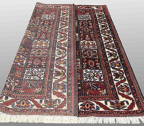 A carpet, baktiari, ca 312 x 226 cm.