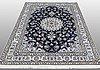 A rug, nain, 238 x 166 cm.