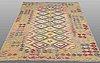 A rug, kilim, ca 245 x 177 cm.