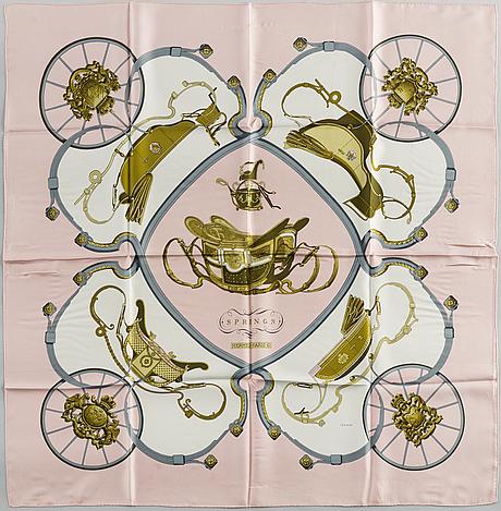 """HermÈs, """"springs"""", scarf"""