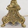 Bordslampa, barockstil, kring 1900