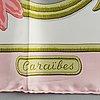 """HermÈs, """"caraibes"""", scarf"""