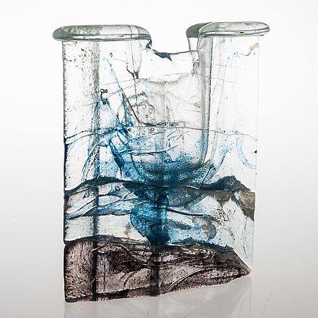 Helena tynell, vas, glas, signerad napapiirin taidelasi finland helena tynell
