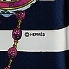 """HermÈs, """"parmis les fleures"""", scarf"""