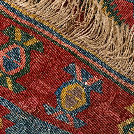 Gallerimatta, kelim orientalisk, ca 410 x 140 cm
