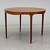 A coffee table by ole wanscher, a.j. iversen, copenhagen, denmark