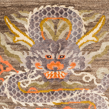 A carpet, old tibet, ca 280 x 200 cm