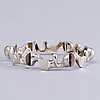 Armband, sterling silver, lapponia 1979