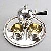K anderson kaffeservis 4 dlr silver stockholm 1934
