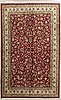 An old keshan carpet ca 355 x 241 cm.